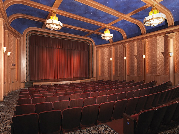 Packard Campus theater interior