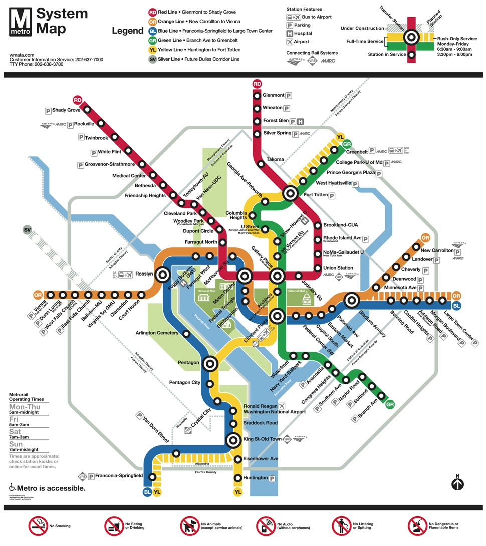 Washington Dc Subway Map Pdf Eastern Asia Map Map Of North Korea